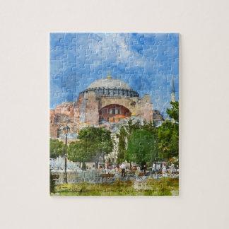 Puzzle Hagia Sophia en Sultanahmet, Estambul