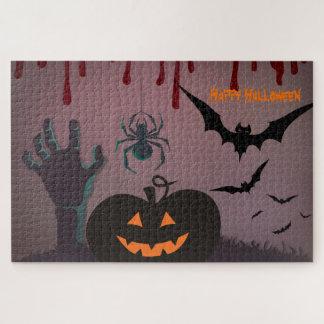 Puzzle Halloween asustadizo