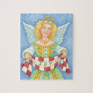 Puzzle Halo lindo del ángel del navidad del dibujo