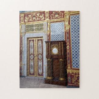 Puzzle Harem en el palacio histórico de Topkapi, Estambul
