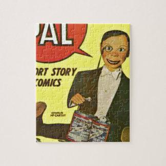 Puzzle Hola arte de la cubierta de PAL #2 Charlie
