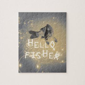 Puzzle Hola pescador