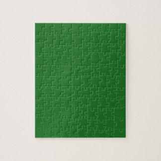 Puzzle Holzmaserung verde