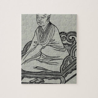 Puzzle Hombre que se sienta en actitud de la meditación