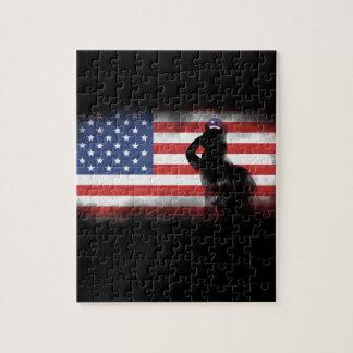 Puzzle Honre a nuestros héroes el Memorial Day