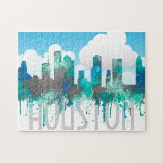 Puzzle Horizonte de Houston, Tejas - selva del SG