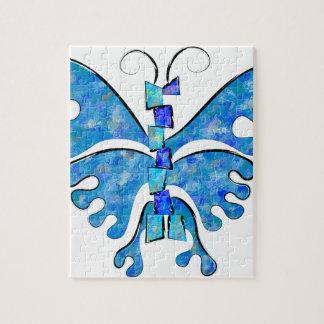 Puzzle Icelonius - mariposa azul del hielo