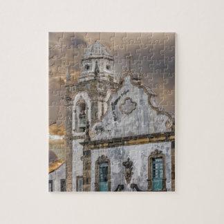 Puzzle Iglesia colonial Olinda de la antigüedad exterior