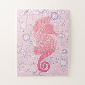 Puzzle Ilustraciones caprichosas y adorables del Seahorse