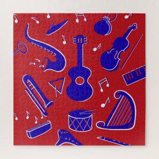 Puzzle Instrumentos musicales