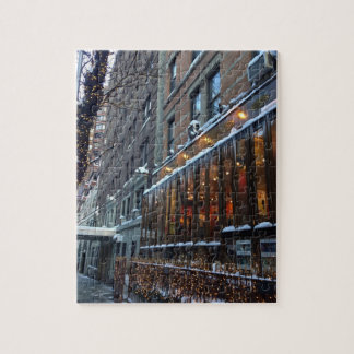 Puzzle Invierno superior NYC de New York City de los