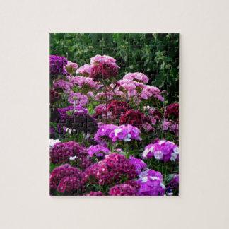 Puzzle Jardín de flores en verano