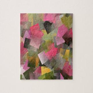 Puzzle Jardín en colores pastel….