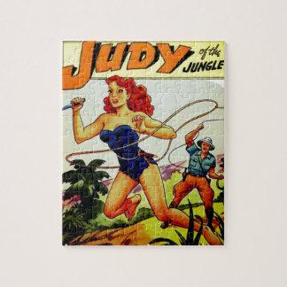 Puzzle Judy de la selva