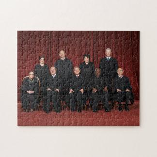 Puzzle Jueces del Tribunal Supremos de Estados Unidos