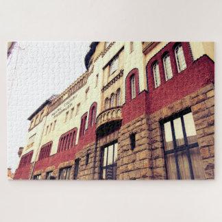 Puzzle La arquitectura hermosa del palacio de la cultura