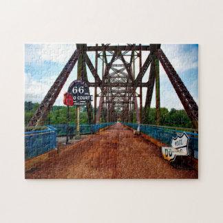 Puzzle La cadena oscila el puente Missouri