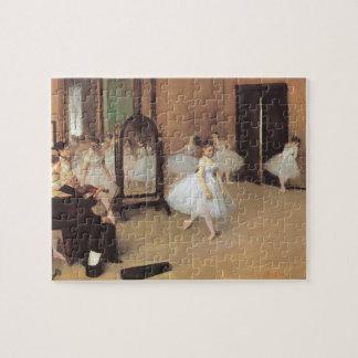 Puzzle La clase de baile de Edgar Degas, ballet del