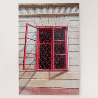 Puzzle La ventana roja