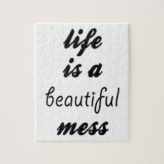 Puzzle La vida es un lío hermoso