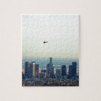 Puzzle LA y helicóptero