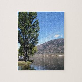 Puzzle Lago Osoyoos, Okanagan
