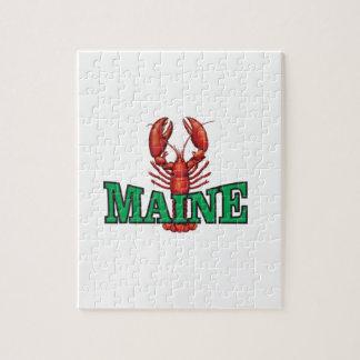 Puzzle langosta verde de Maine