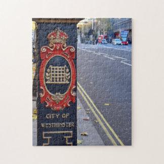 Puzzle Las calles del Puzzler de Westminster - de Londres