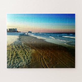 Puzzle Línea de la playa y paseo marítimo de Daytona