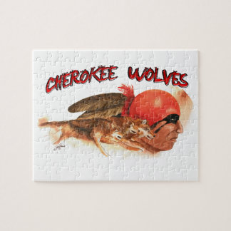 Puzzle Lobos cherokees