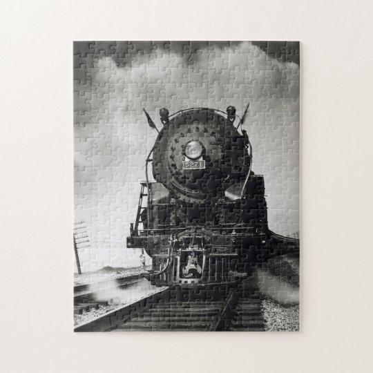 Puzzle Locomotora a vapor