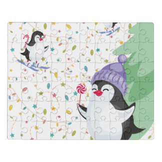 Puzzle Locura del pingüino