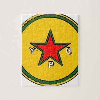 Puzzle logotipo 2 del ypg