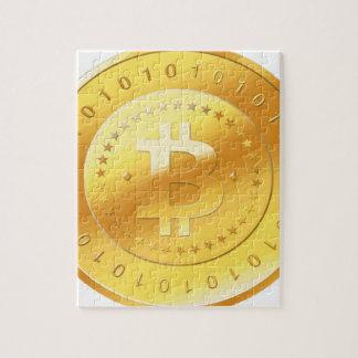 Puzzle Logotipo de Bitcoin