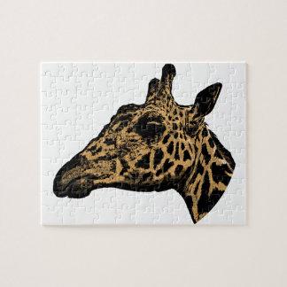 Puzzle Logotipo de la jirafa