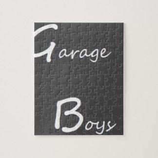 Puzzle Logotipo de los muchachos del garaje