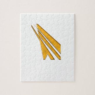 Puzzle logotipo del oro