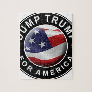 Puzzle Logotipo oficial de DumpTrumpforAmerica