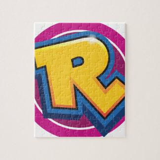 Puzzle Logotipo reducido de la rotura
