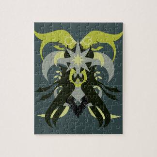 Puzzle Loki de la abstracción siete
