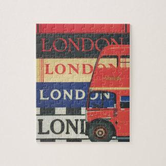 Puzzle London bus