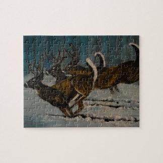 Puzzle Los 3 ciervos