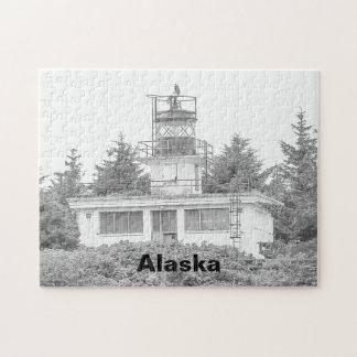 Puzzle Luz de la isla del guardia de Alaska