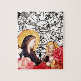 Puzzle madonna y niño