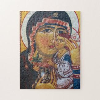 Puzzle Madre Maria y arte de Jesús