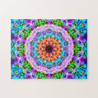 Puzzle Mandala colorida el | que se relaja