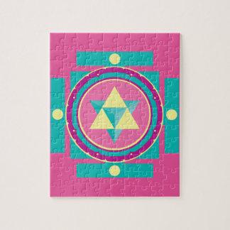 Puzzle Mandala de Merkaba