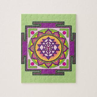 Puzzle Mandala de Sri Yantra