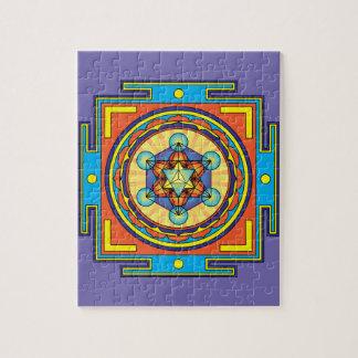 Puzzle Mandala del cubo de Metatron