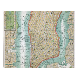 Puzzle Mapa antiguo del Lower Manhattan y del Central